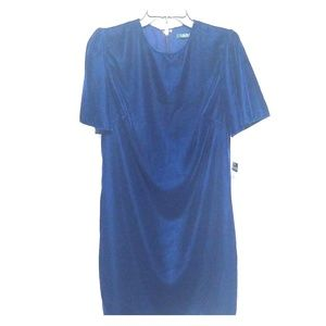 The Little Royal Blue Dress